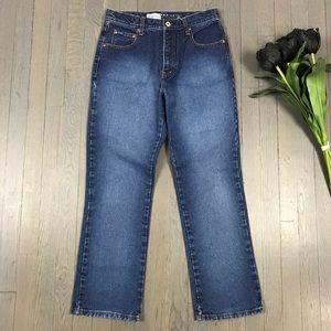 Vintage Express Bleus Bootcut 90's Mom Denim Jeans